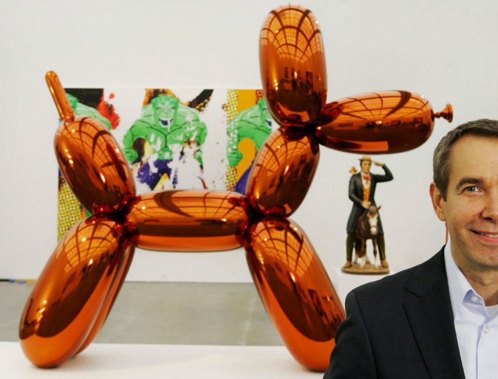 Jeff Koon's Balloon Dog