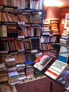 Interior of Librería Donceles in Red Hook, Brooklyn, March 2015. Photo by Elizabeth Grady.
