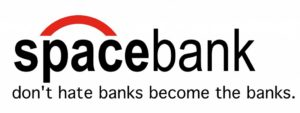 Spacebank logo.