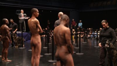 Dread Scott: Decision, performance, duration: 1 hour 15 minutes, 2012.