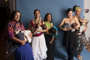 Decolonization Begins At Birth, breastfeeding workshop at Project Luz: The Classroom Art for All, Queens College, NY, 2013. Photo by Sol Aramendi.