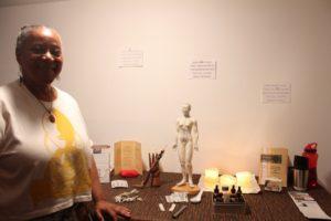 Julia Bennett, Harriet's Apothecary Acupuncture and Acupressure healer, Summer 2014. Photo: Alvin McBean