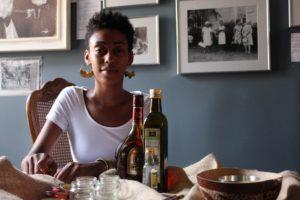 Shamilia McBean, Harriet's Apothecary herbalist healer, Summer 2014. Photo: Alvin McBean