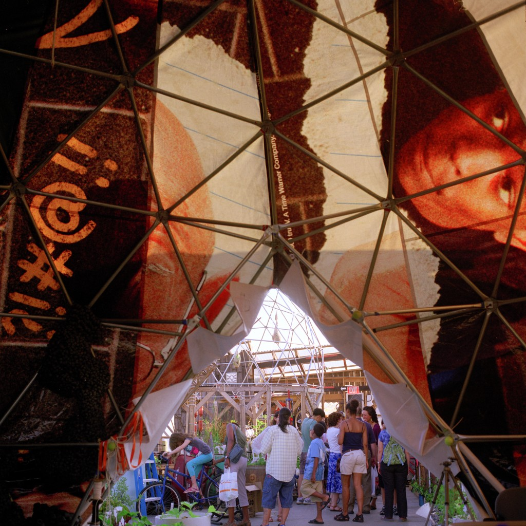 Waterpod Dome, 2009. Photo by Mary Mattingly.