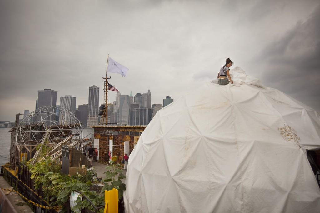 Waterpod Dome, 2009. Photo by Mike Nagle.