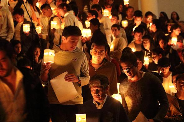 Participants during De tu Puño y Letra, November 25, 2015. Photo by Christoph Hirtz.