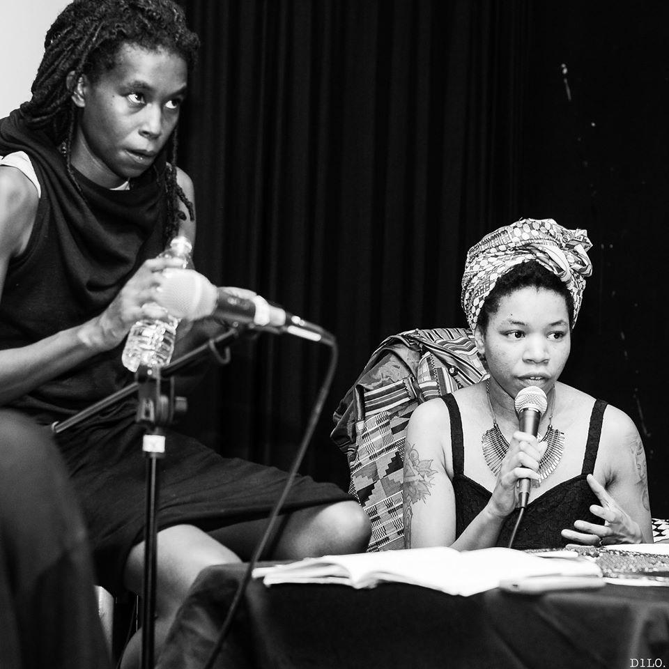 Black Quantum Futurism: Camae Ayewa and Rasheedah Phillips. Courtesy the artists.