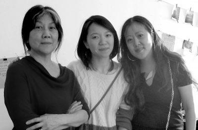 Chinatown Art Brigade Group Photo B+W