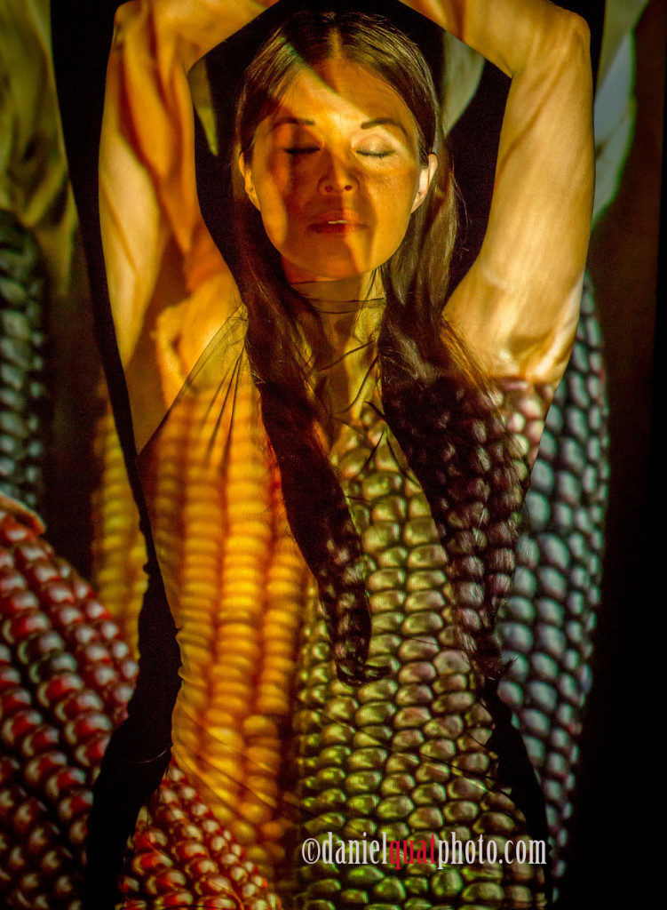 Rulan Tangen in …Origin-Nation: Seeds…. Photo: © Daniel Quat Photography for Dancing Earth