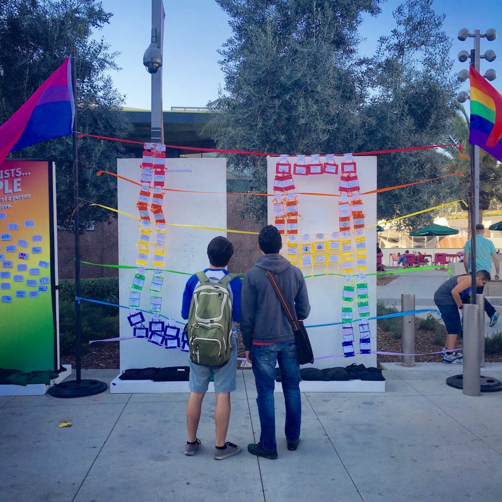 Interactive public installation designed for Grand Park in Downtown Los Angeles for their PROUD Series. Courtesy the artist.