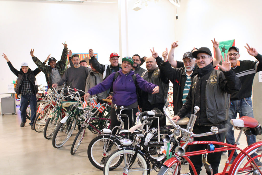 Three generations of Puerto Rican Schwinn Club riders, 2017.