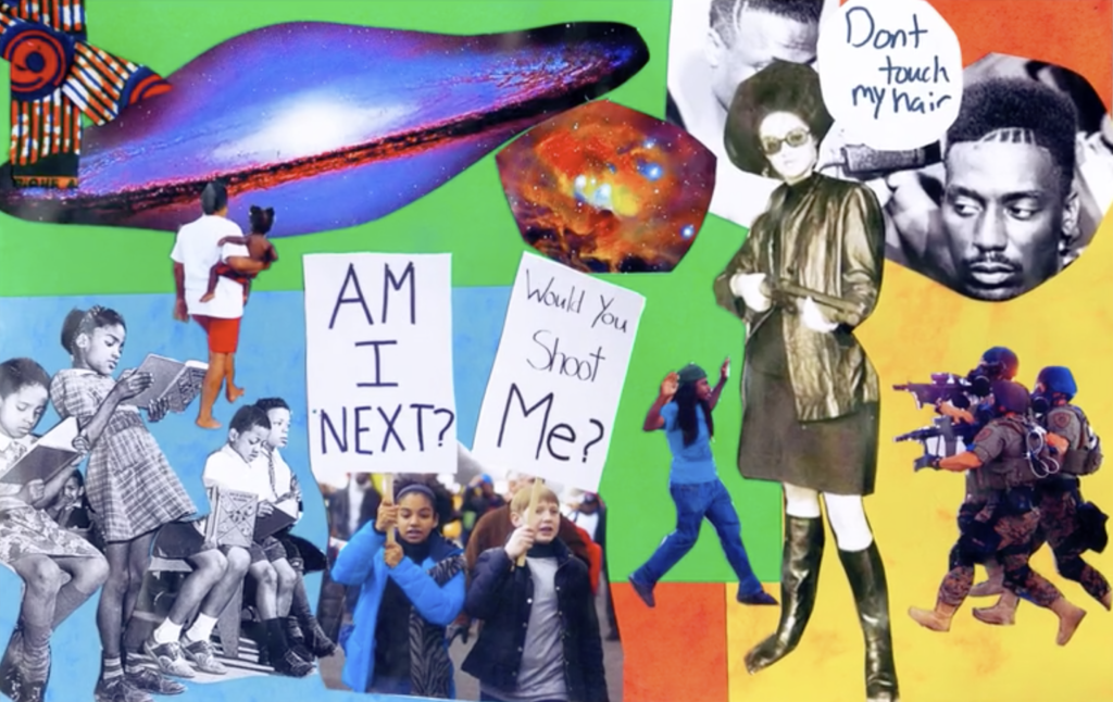 Student artwork, image: RAVA Films