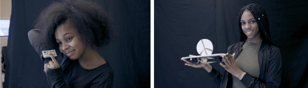 Black School students show their creations, image: RAVA Films