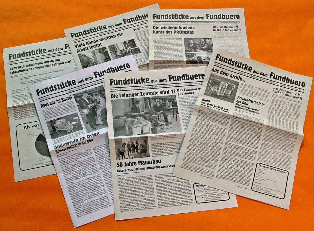 A self-published newspaper documented activities. Articles were written by participants and event attendees. The newspapers were distributed regionally. Print costs were funded by donations from neighborhood businesses. Photo by Matt Fritts.