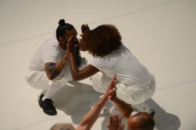 Primitive Games, performance, 1 hour at Guggenheim Museum, New York NY, 21 June 2018. Photo by Enid Alvarez.