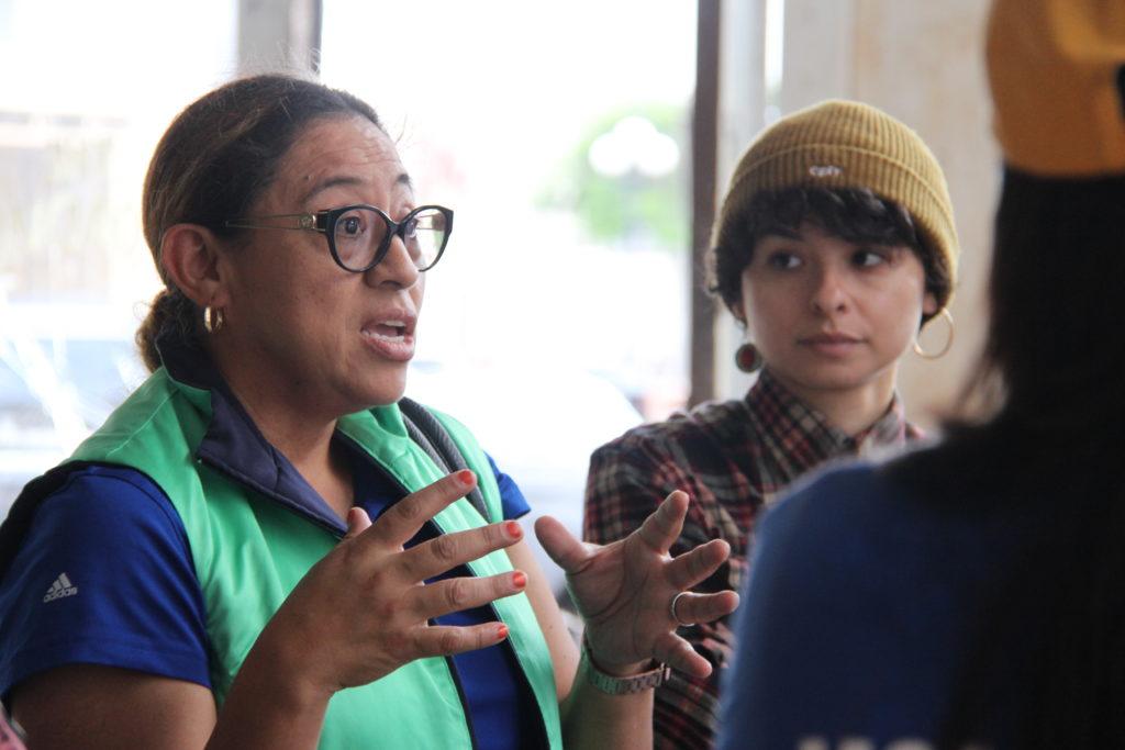 Hilda Ledezma participates in Las Imaginistas' Festival de Construcción