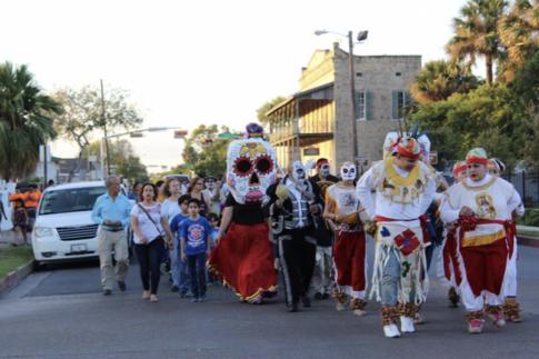 Día de los Muertos parade in Buena Vida, courtesy ROCA