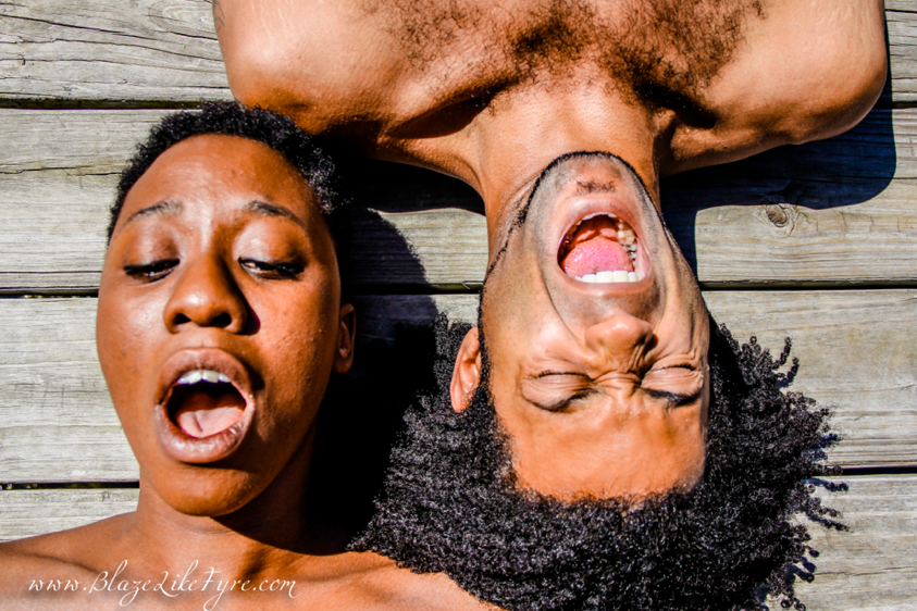 Rebecca Mwase and Ron Ragin, co-creators of Vessels and Freedom Chamber. Photo: Blaze Edwards
