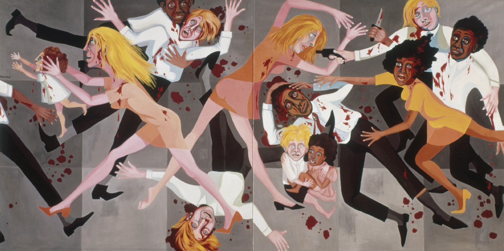 Faith Ringgold, American People Series