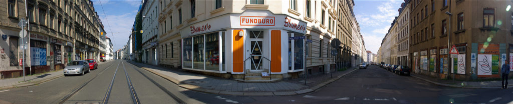 Das Fundbuero's (the Lost and Found Office's) Leipziger Zentrale: a physical space for a grassroots archive of East German history. Photo by Monica Sheets.