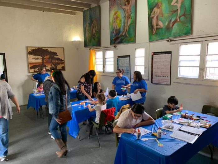 Artmaking at Carlotta K. Petrina Cultural Center, courtesy ROCA