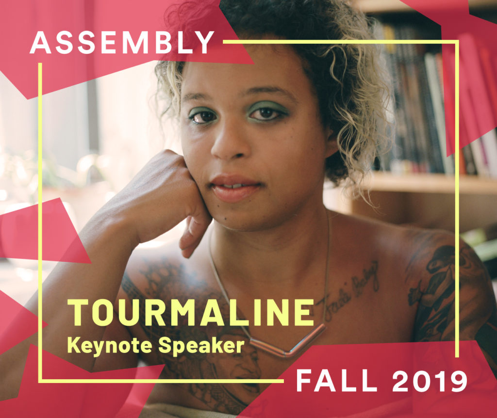 Artist, filmmaker, and activist Tourmaline. Photo courtesy of the artist.
