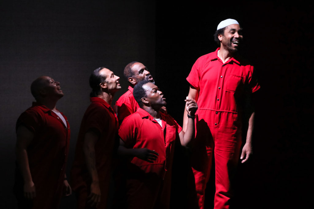 COUNT: Stories from America's Death Row., Premiere at PlayMakers Repertory Company. Photo by HuthPhoto.