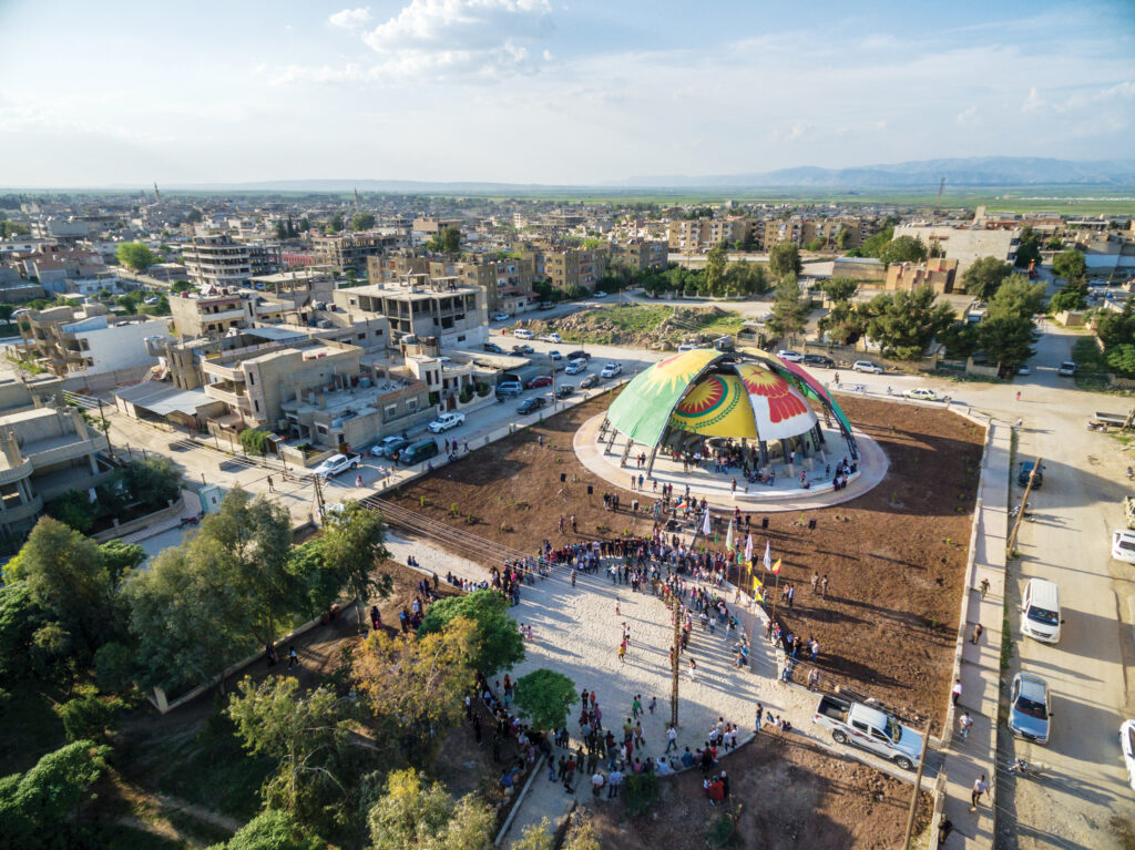 People's Parliament of Rojava in Dêrik